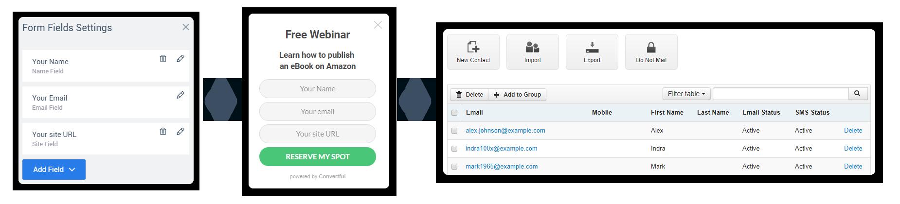 ActiveTrail integration custom fields support
