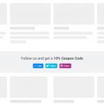 Convertful widget - follow buttons example