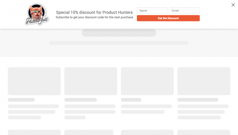 Convertful widget - targeting by the visit source