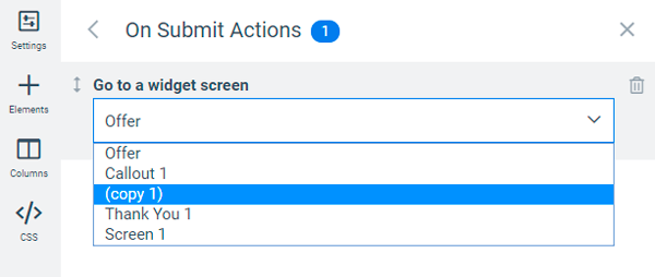 button-action-switching-screens
