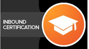 HubSpot inbound certification logo