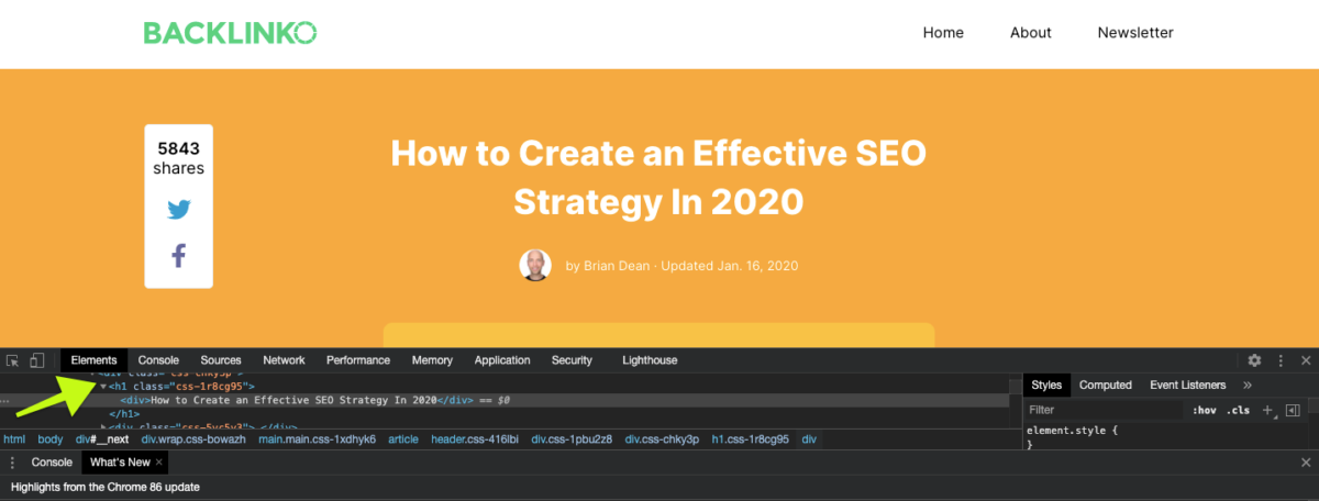 Backlinko SEO strategy