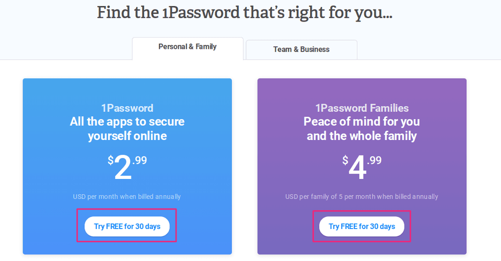 1password call-to-action