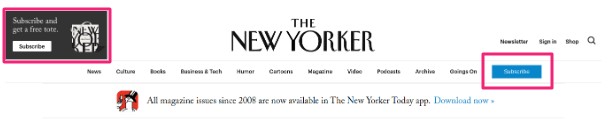 new yorker call-to-action