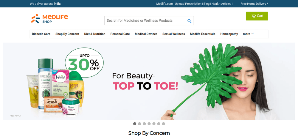shopify store medlife
