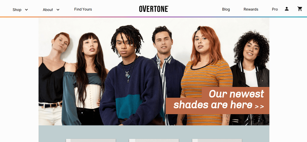 shopify store overtone